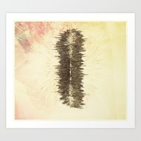 Static shock Art Print