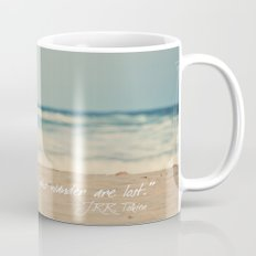 Not all those who wander are lost. Mug