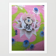 Graffiti Coffee Wall Art Print