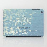 SUMMER IS CALLING iPad Case