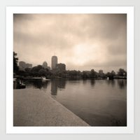 Charles River Lagoon View 2 Art Print