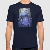 The Bugul Noz Mens Fitted Tee Navy SMALL