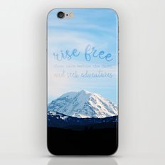 Rise Free From Care Befo… iPhone & iPod Skin