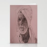Egyptian Old Man Stationery Cards