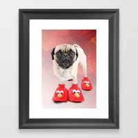 You Don't Have A Pair Or… Framed Art Print