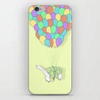Turtle Adrift iPhone & iPod Skin