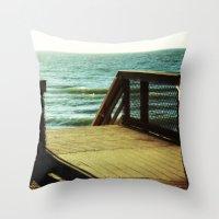 Seaside Dreaming Throw Pillow