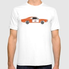 The Busted General Mens Fitted Tee White SMALL