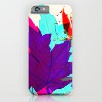 iPhone & iPod Case featuring Maple Leaves Falling by VirginiaEddie Designs