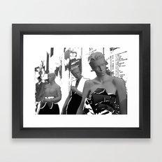 Montreal 2008 – Yves Saint Laurent Love - 40 years of creation retrospective Framed Art Print