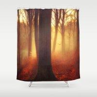 Pyro Shower Curtain