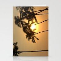 Hawaiian Sunset Stationery Cards