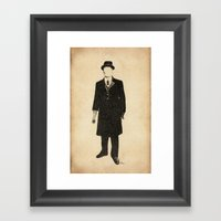 The Old One Percent  Framed Art Print