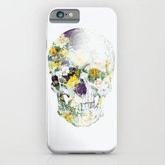 Skull Bouquet B iPhone 6 Slim Case