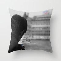 Haydarpasa Throw Pillow