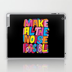 Make all the noise possible! Laptop & iPad Skin