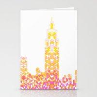 Sunrise Over NYC Stationery Cards