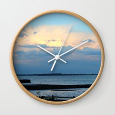 Behind the Clouds Wall Clock