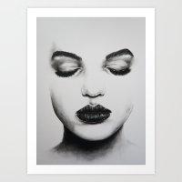 Shut It Out Art Print