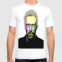 DR HOUSE Mens Fitted Tee White SMALL