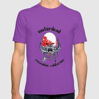 Motordead Mens Fitted Tee Ultraviolet SMALL