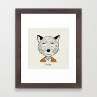 Mr F Framed Art Print