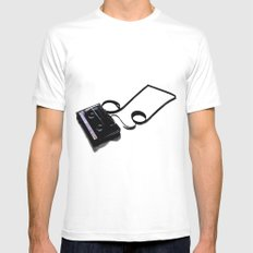 iPod v1.0 Mens Fitted Tee SMALL White