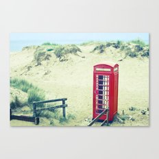 A Call From Paradise Canvas Print