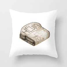 Info Toaster Throw Pillow