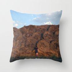 heyloft sunset Throw Pillow