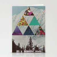 It's A Beautiful World. Stationery Cards