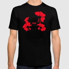 Oh capitán! Mens Fitted Tee Black SMALL