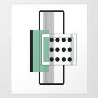 Dominoeffekt Art Print