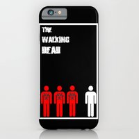 iPhone & iPod Case featuring The Walking Dead Minimalist by Joe Hilditch