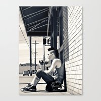 South Tacoma Skater  Canvas Print