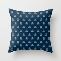 Storm And Radiation Throw Pillow