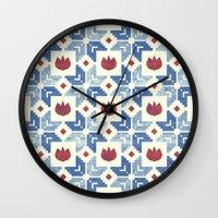 Morning Dusk (2) Wall Clock