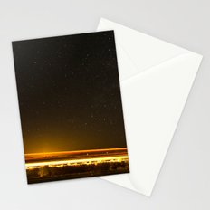 Light Trails Stationery Cards
