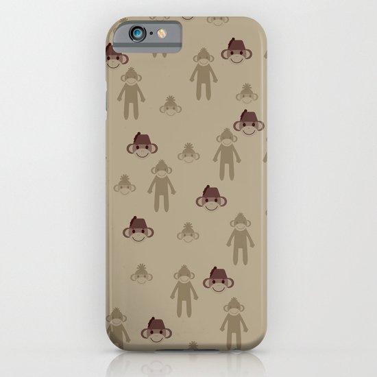 Little Sock Monkeys iPhone & iPod Case