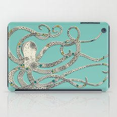 Green Octopus iPad Case