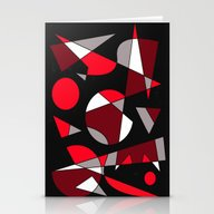 Abstract #107 Stationery Cards