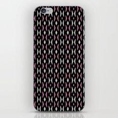 Pink black and White Geometric iPhone & iPod Skin