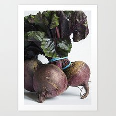 Beetroot Art Print