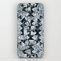 Black Burros iPhone & iPod Skin