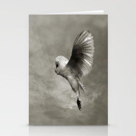"""Night Owl II"" Stationery Card"