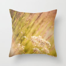 Jeweled Afternoon Throw Pillow