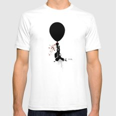 Gun Party ..... Mens Fitted Tee SMALL White