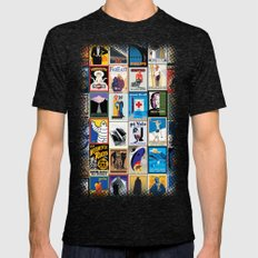 Poster Wallpaper 2 Mens Fitted Tee Tri-Black SMALL