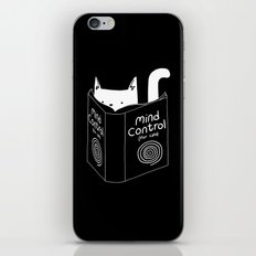 Mind Control 4 Cats iPhone & iPod Skin