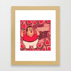 Chris Christie Is Going … Framed Art Print